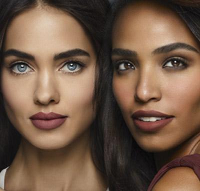 modelos piel oscura y piel media trigueña clara