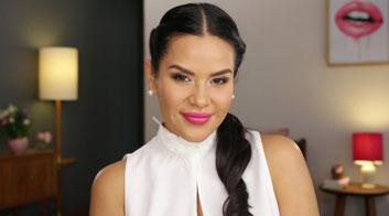 Tutorial de maquillaje con smokey eyes en rosa glam con Mytzi Cervantes