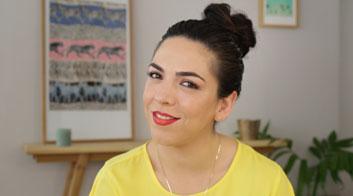 Tutorial de maquillaje para fiesta de día ombré lips naranja con Andrea Flores